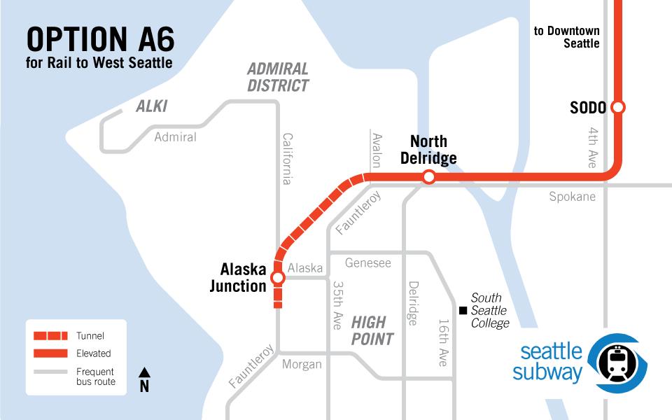 Light Rail is Best for West Seattle