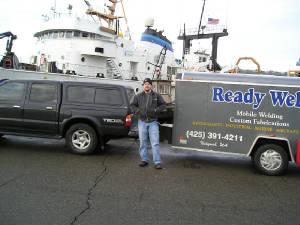 Ready Weld on the docks