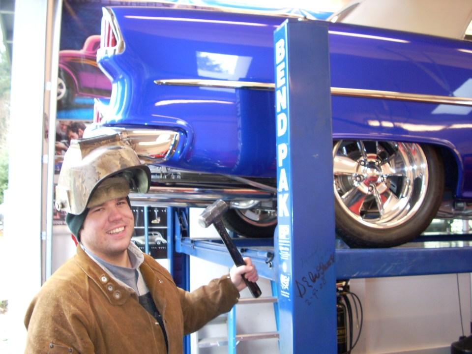Custom welding on cars