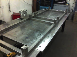 Frame construction for custom contract