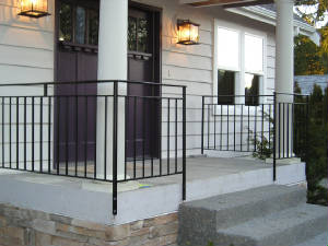 Railing Repair on residential property