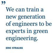 StraussQuote - Training a Generation of Green Engineers