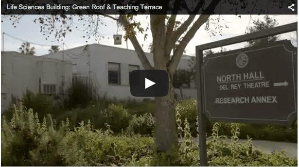 Life Sciences Building – Green Roof Teaching Terrace Seaver News - Life Sciences Building - Green Roof & Teaching Terrace