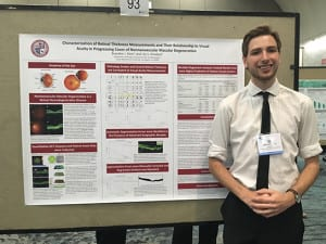 Klein Poster EB2016 544x408 300x225 - Sophomore Honored at Biochemistry and Biology Competition