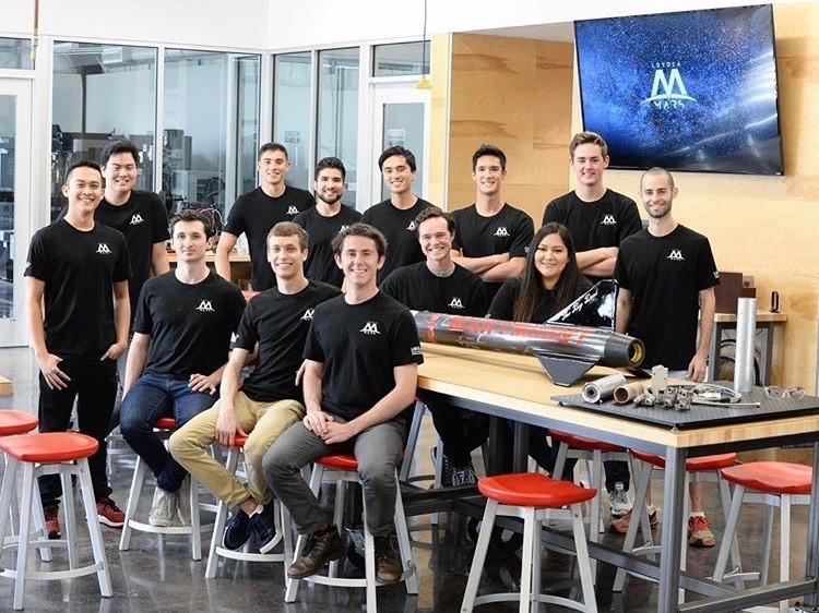 The Loyola Marymount Aerospace Research Society is a new student organization on campus whose main projects focus on building a hybrid rocket and competing in the Base 11 challenge.