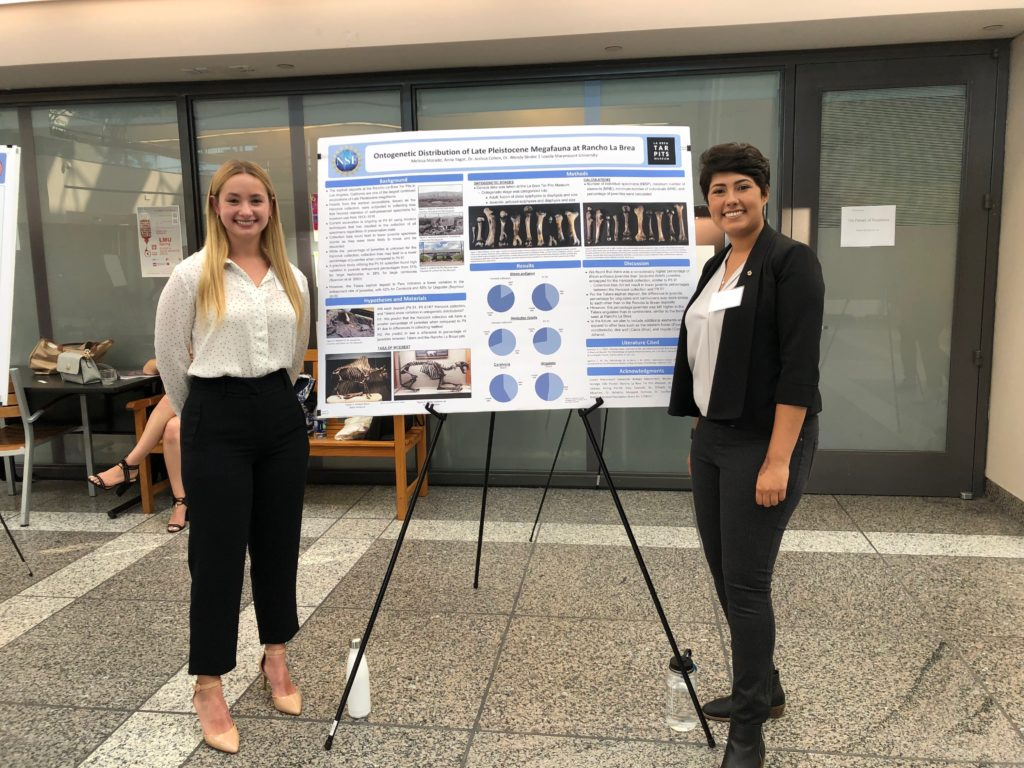 Melissa Morado and Anna Yager present their research