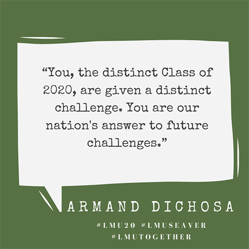 Armand Dichosa 500x500 - Alum Advice During COVID-19: Armand Dichosa '94