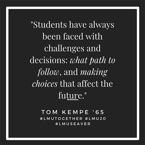 Tom Kempe - Alum Advice During COVID-19: Tom Kempe '65