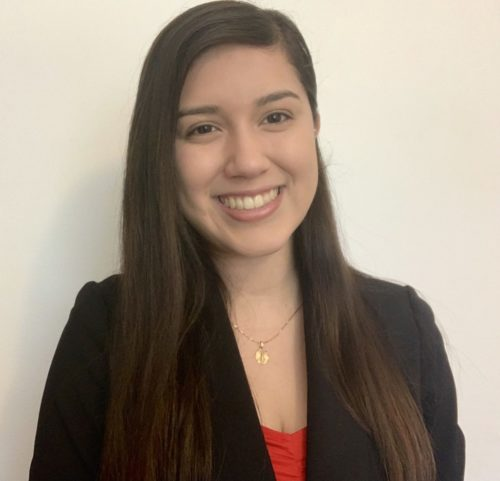 Headshot of student Elena Martinez