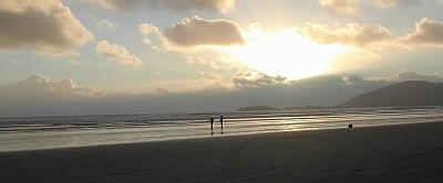 Fishing on Reenroe Beach