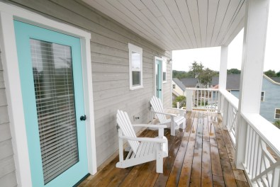 Enjoy the private deck with access from the master and guest bedrooms.