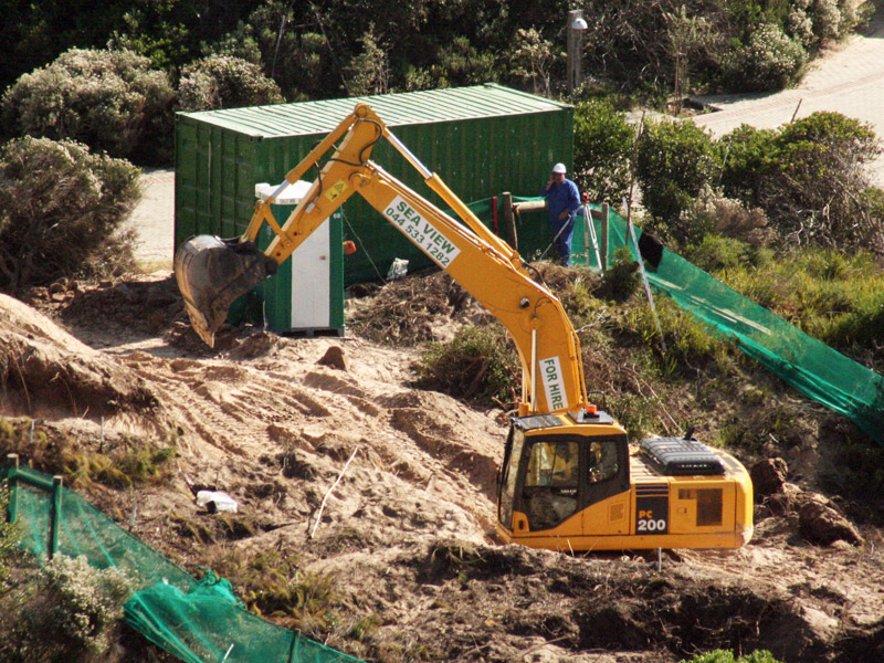 how to get experience as a excavator operator