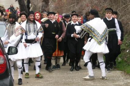 Arapides Dramas - Folk custom in Greece
