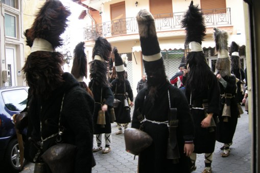 Arapides Kavalas - Folk custom in Greece