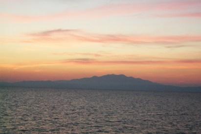 Ντελικάτα χρώματα ηλιοβασιλέματος, Αιγαίο Πέλαγος, Παληό Καβάλας