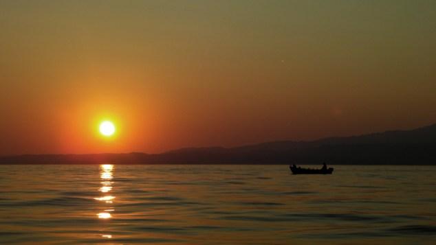 Sunset in Skala Kallirachi Thassos