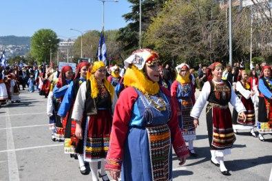 Парад 25 марта в Кавале, Общество Эвритов г.Кавала, Греция