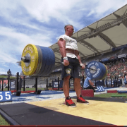 deadlift at crossfit games