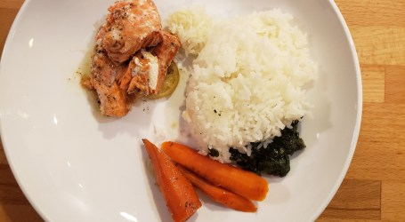 Lime Salmon Recipe for a Low FODMAP diet