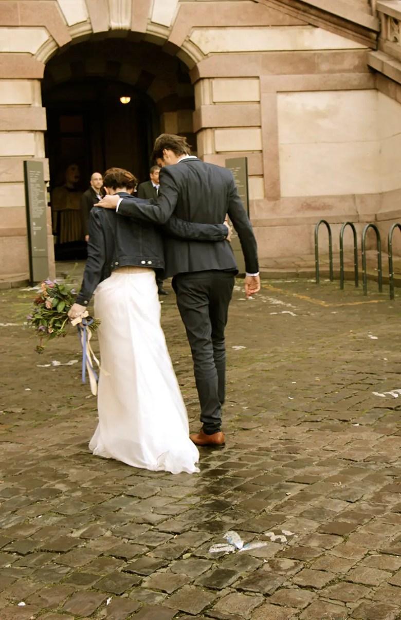 mariage de dos