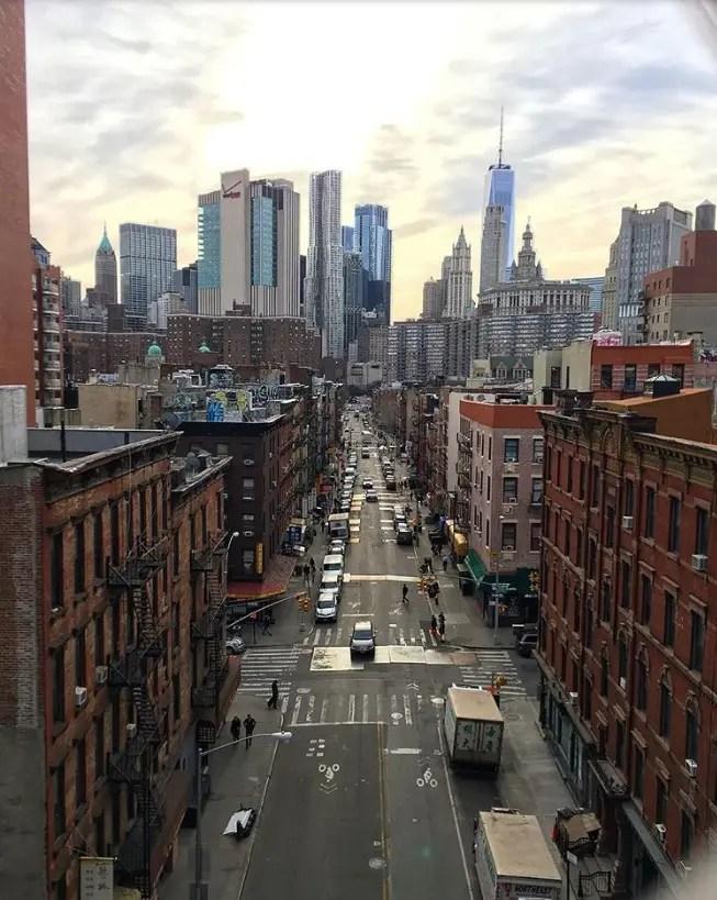 vue du manhattan bridge new york en famille enfants