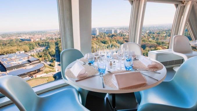 Restaurant de l'Atomium à Bruxelles en Belgique - %%focuskw%% - Processed with VSCO with al3 preset