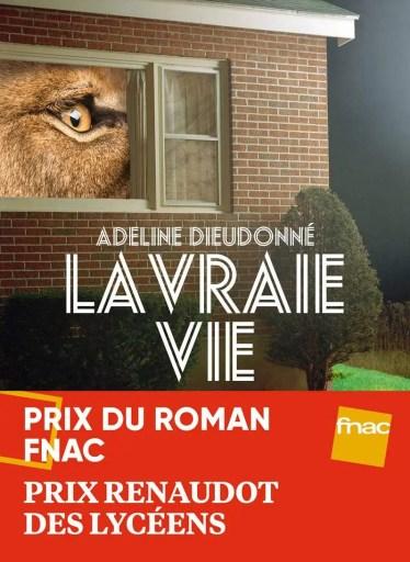 Livre La vraie vie d'Adeline Dieudonné