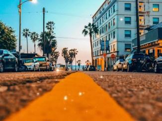 Rue en Californie