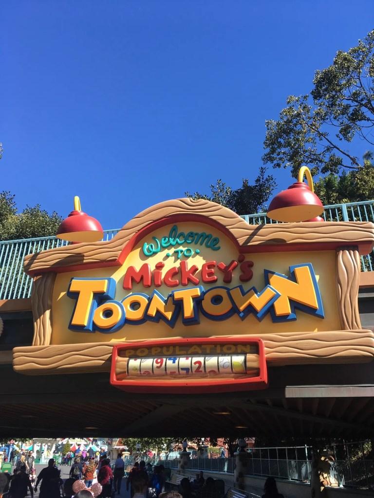 Le parc Disney de Californie