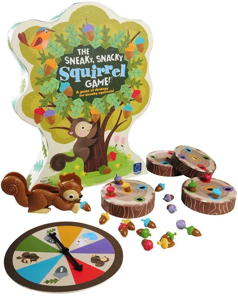 jeu de l'écureuil