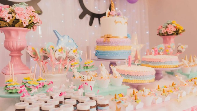 - cakes on table