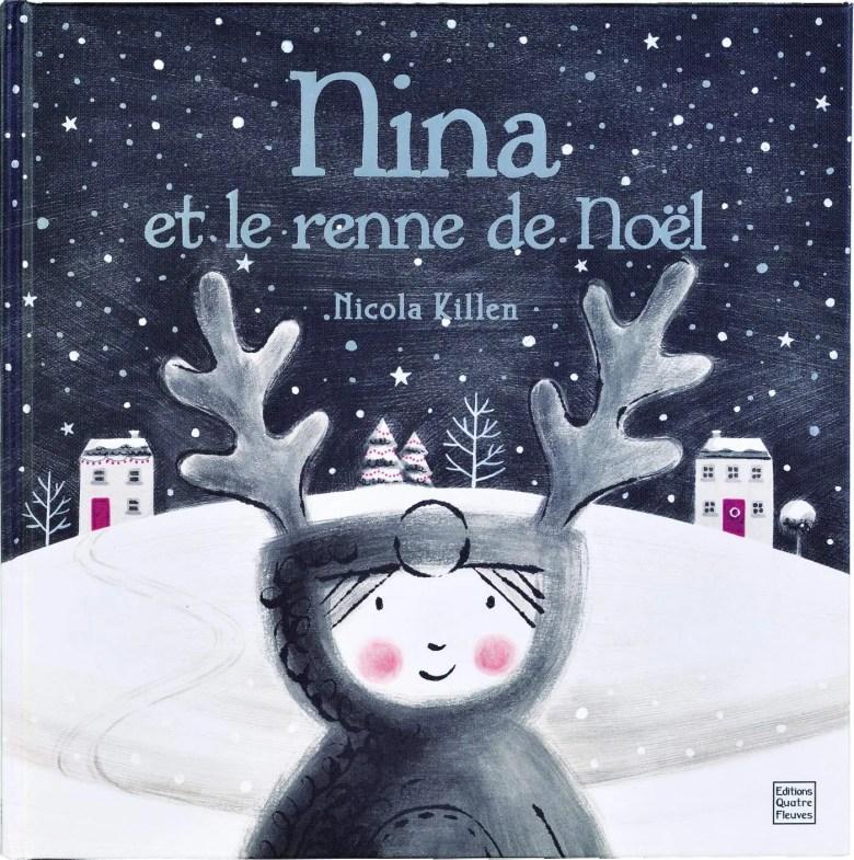 nina et le renne de Noël