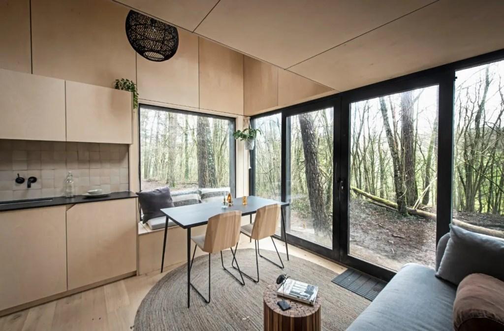 slo cabane dans les arbres belgique
