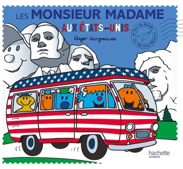livres pour ceux qui aiment l'amérique: les monsieur madame aux états-unis