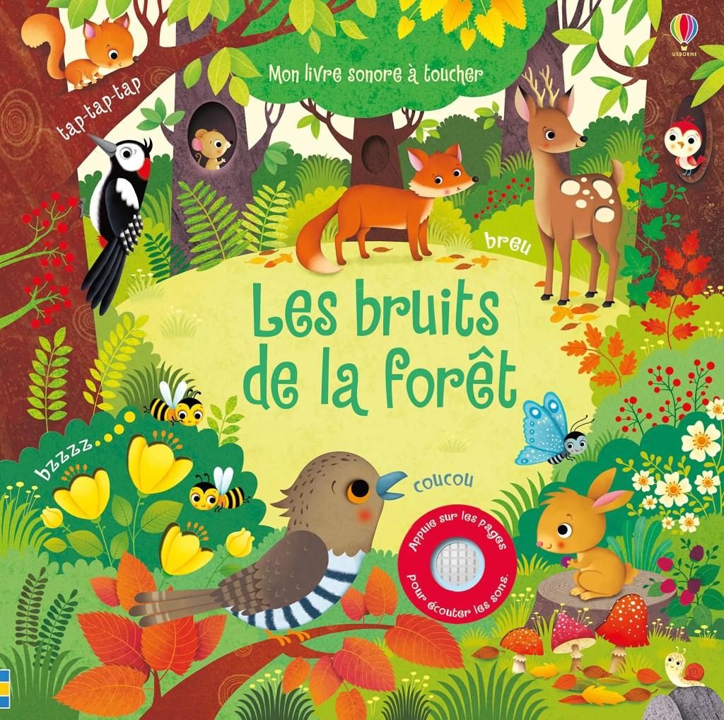 livres enfants automne les bruits de la forêt