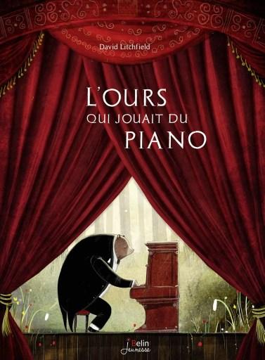l'ours qui jouait du piano livre enfant
