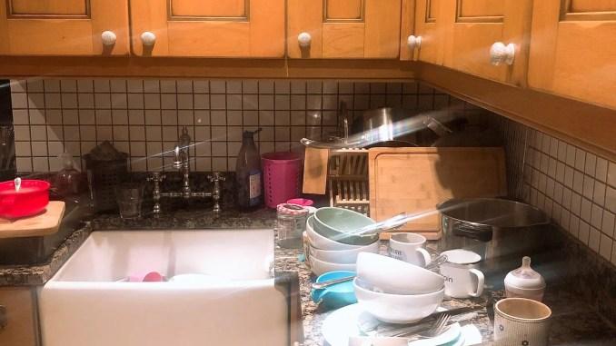 charge mentale vaisselle ménage - vaisselle