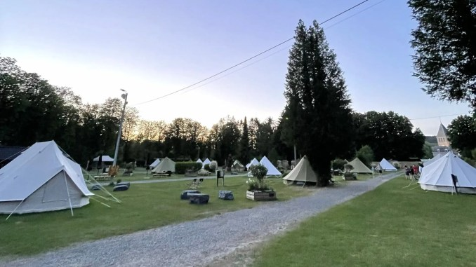Glamping aux Grottes de Han - glampingcocoonvillage