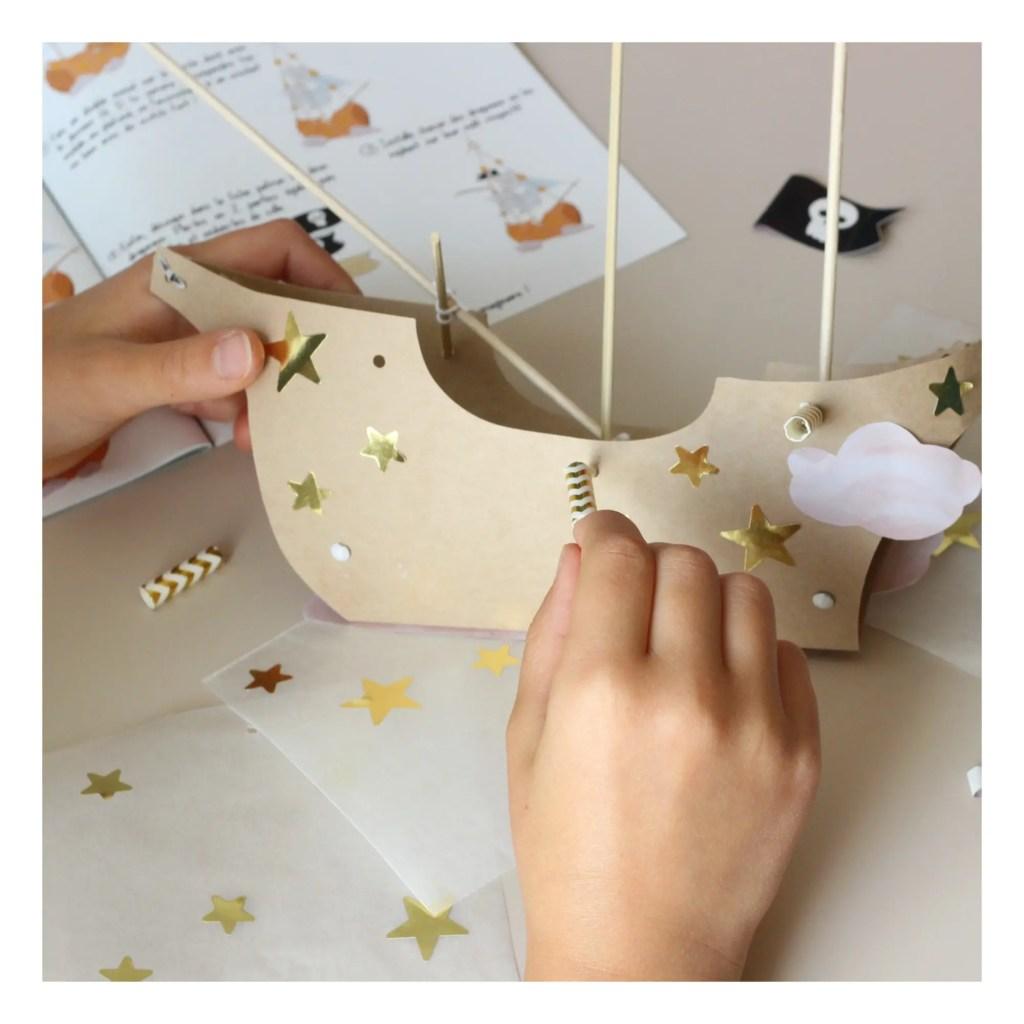 kit créatif l'atelier imaginaire peter pan