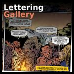 comic lettering gallery