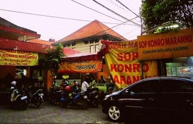 Tajamnya Aroma Rempah di Rumah Makan Sop Konro Marannu Bandung