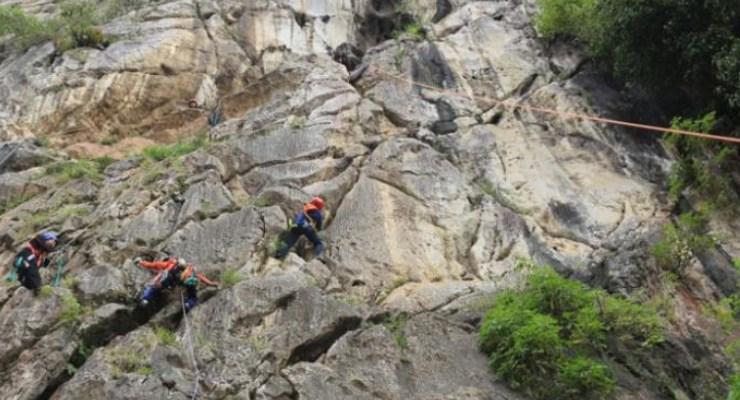 Jalur Pendakian Tebing Citatah 90
