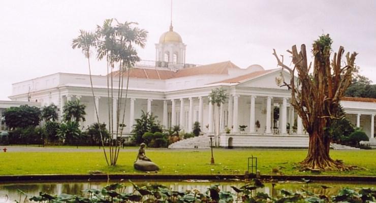 Halaman Depan Istana Kepresidenan