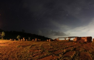 Wisata Bukit Moko Di Malam Hari