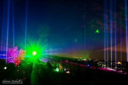 Weinbergnacht green Laser