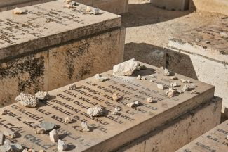 Graves at Mount of Olives