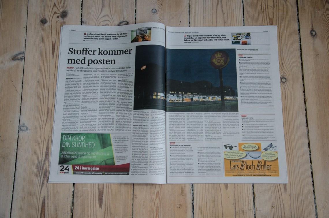 Narkoforsendelser - I avisen