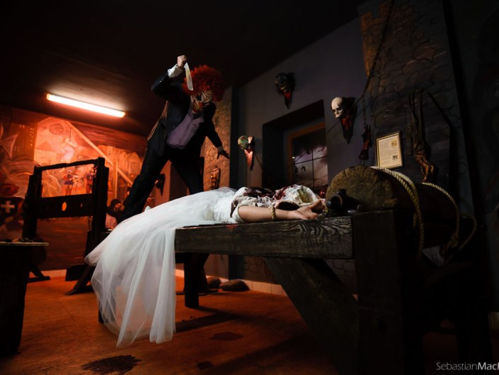 Marlena & Michał | Muzeum Horroru