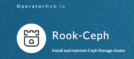Rook just landed on operatorhub.io