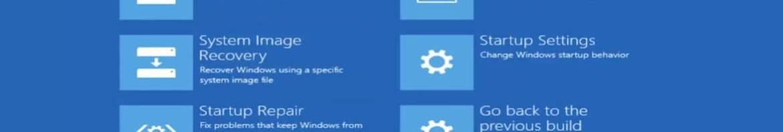Les fameuses tentatives de réparation Windows 8.1